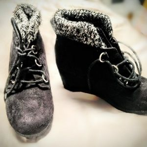 Soda Wedge Bootie